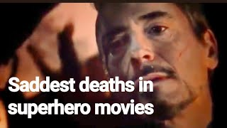 Top 5 Saddest deaths in superhero movies