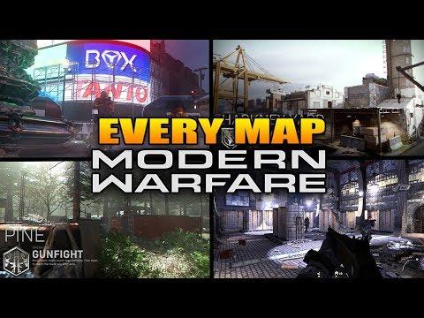 Every Map In Call Of Duty Modern Warfare (COD MW All Maps)