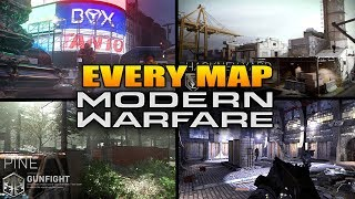 Every Map In Call of Duty Modern Warfare (COD MW All Maps)