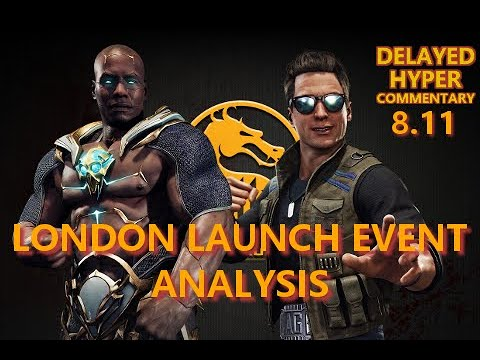 DHC 8.11: MK11 Johnny, Geras, Etc at London Launch Event