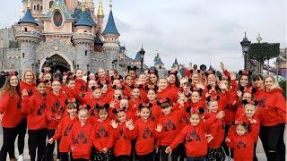 Dancing at Disneyland Paris