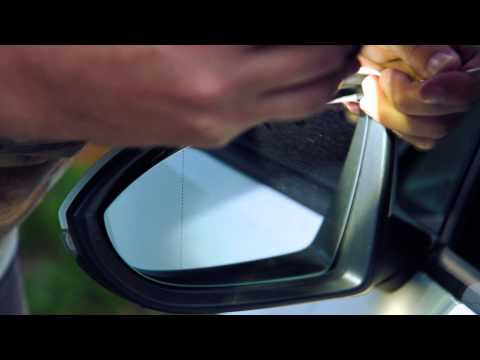 How To Install Replace Disassemble Side Rear View Mirror VW Volkswagen Golf 7