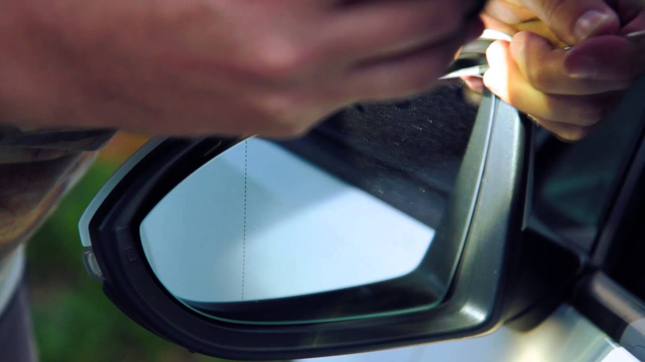 How To Install Replace Disassemble Side Rear View Mirror