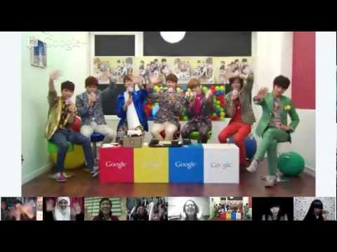 "INFINITE 4th Album ""MAN IN LOVE"" After Party Google+ Hangouts on Air"