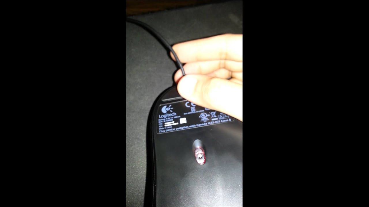 logitech g400 mx518 usb disconnecting mouse cable defect