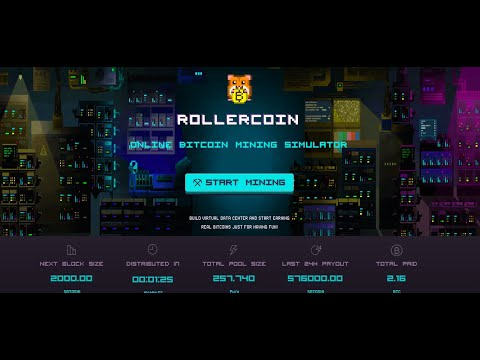 Earn Free Bitcoin With Games!! Rollercoin