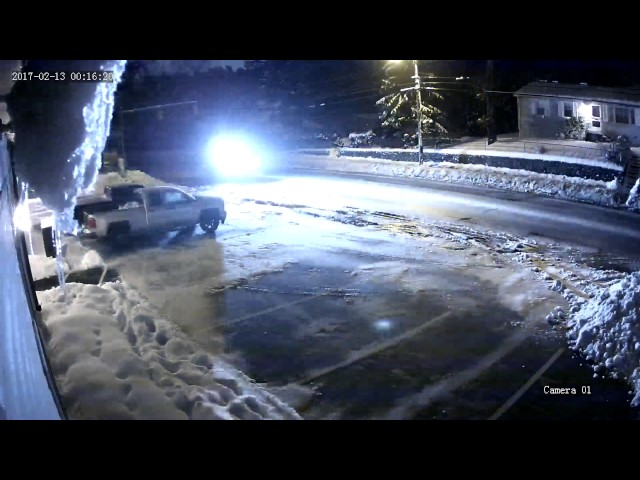 Coventry police release video of truck leaving scene of