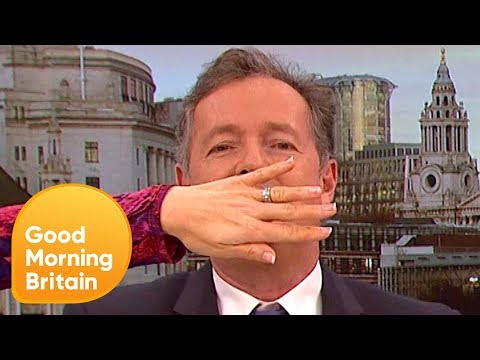 Piers Morgan Clashes With Headteacher in Gender-Neutral Debate | Good Morning Britain