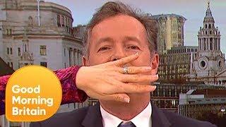 Piers Morgan Clashes With Headteacher in Gender-Neutral Debate   Good Morning Britain