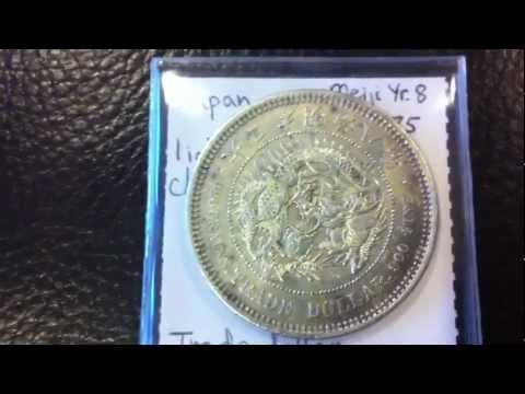 Coinpicker&39;s Old Japanese Silver Yen & Trade Dollar Collection