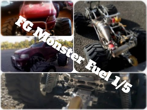 RC Gasoline (Fuel), FG Monster 1/5ème, RC Nitro Novarossi,   + RC Cars Electric