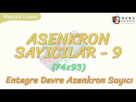 ASENKRON SAYICILAR - 9 / ENTEGRE DEVRE ASENKRON SAYICI - 2