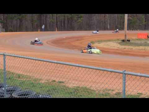Cody Byrd Feature Win Dawgwood Speedway 3/5/17