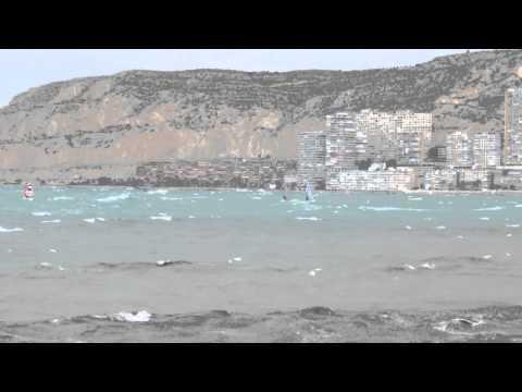 Windsurf en Malvinas Spot (Ciclogénesis Explosiva)