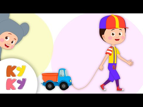 ЛЕТАЮЩИЙ ГРУЗОВИК - Кукутики - Мультик про машинку для детей или пранк розыгрыш над Мышонком