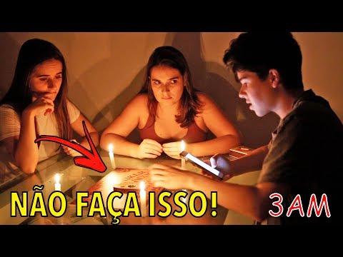 NUNCA JOGUE ISSO ÀS 3 HORAS DA MADRUGADA! (TABULEIRO OUIJA)