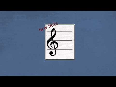 Flashcards, Note Names 1: Treble Clef, C4 (Middle C) - G4