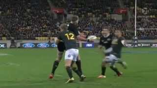 Richie McCaw (Aaron Cruden, Kieran Read) Try Wellington 13 09 2014 All Blacks Springboks