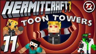 Moving in to Toon Towers! - Hermitcraft Season 7: #11