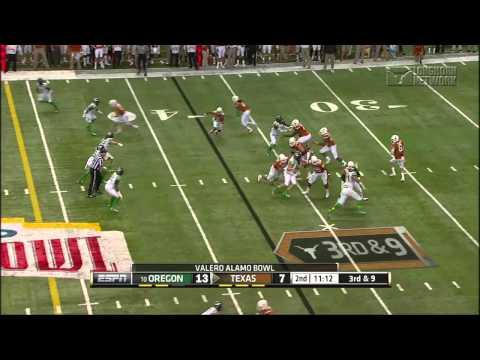 Football highlights: Oregon (Valero Alamo Bowl) [Dec. 31, 2013]