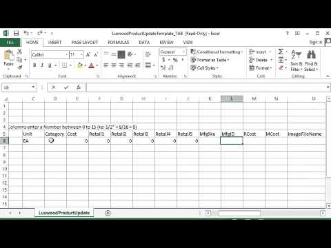 Mvp Desktop Excel Database Template Youtube