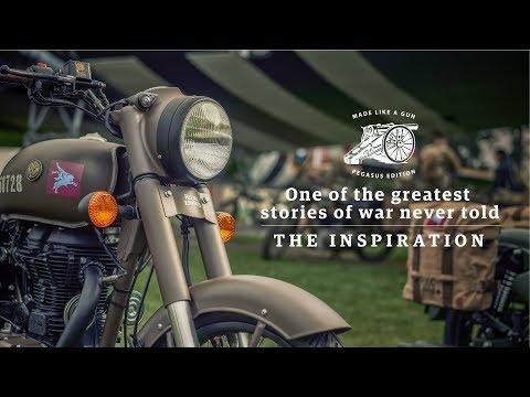 Royal Enfield Classic 500 Pegasus – The Inspiration