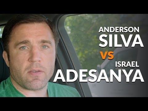 Anderson Silva vs Israel Adesanya needs to happen...