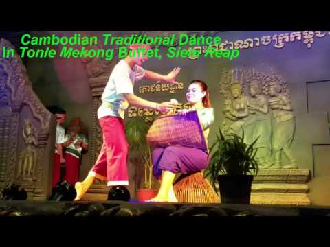 Cambodian Traditional Dance in Siem Reap Angkor Wat Cambodia | Asian Travel | Khmer Music