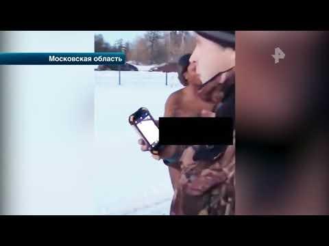 """Час на морозе: подробности """"шоу"""" с голыми проститутками в Москве"""
