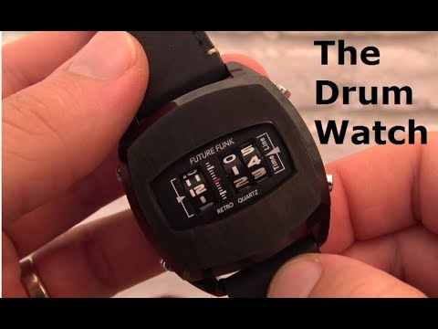 Future Funk Drum Watch - Ep 82 - Vintage Digital Watches