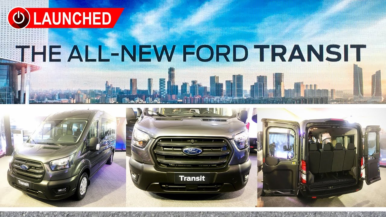 2019 7th-Generation Ford Transit Launch