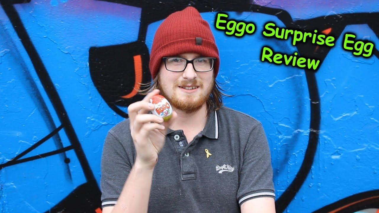 Eggo Chocolate Surprise Egg Opening And Review Frozen Elsa ...