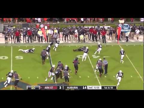Arkansas State vs Auburn 2013
