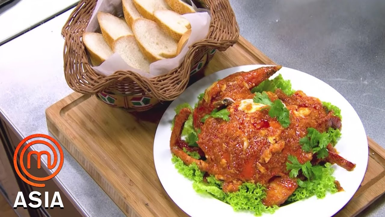 Chef Eric Teo's Singaporean Chilli Crab | MasterChef Asia | MasterChef World