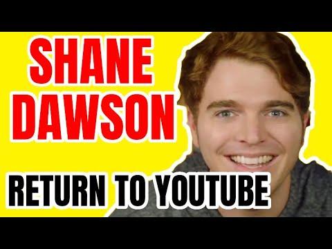 Shane Dawson Return To Youtube Youtube