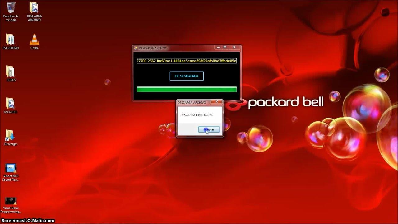 Descarga Asincronica de Archivos y Progressbar con Visual Basic (VB ...