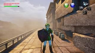 Unreal Engine 4 Zelda - Armogohma Fight