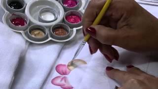 Pintura em Fralda com Stencil por Filo Frigo – Parte 1