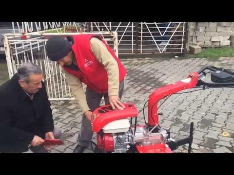 Antrac 200 çapa Makinası Nasıl Kullanılır (Ürün Teslimatı)