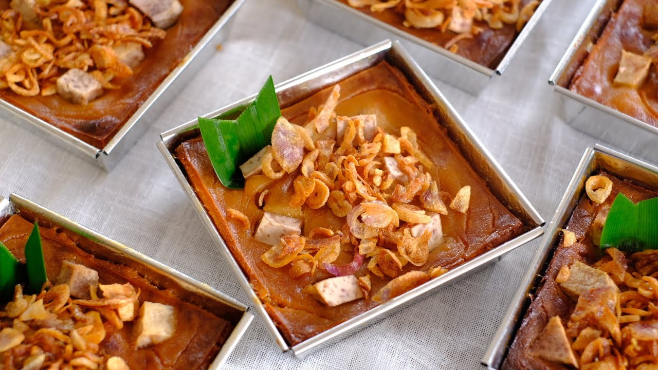 สูตรขนมหม้อแกงเผือก หอม อร่อย ถูกใจทุกคนที่ได้ชิม