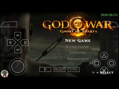 Force 60 fps Cheat vs fixed 30 fps God of war PPSSPP Android