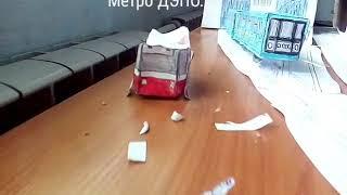 Обзор метро ДЭПО из бумаги.