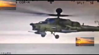 Ирак вертолеты МИ 28 бомбят игил