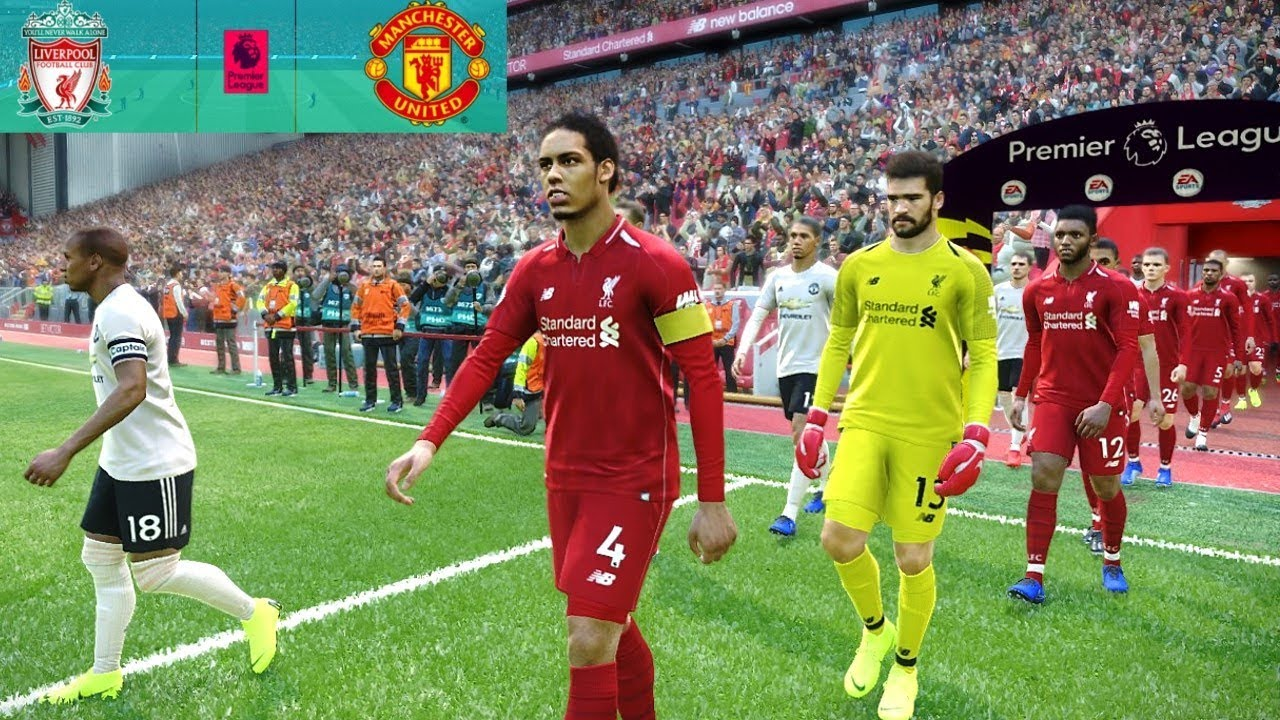 Liverpool Vs Manchester United Epl  Gameplay