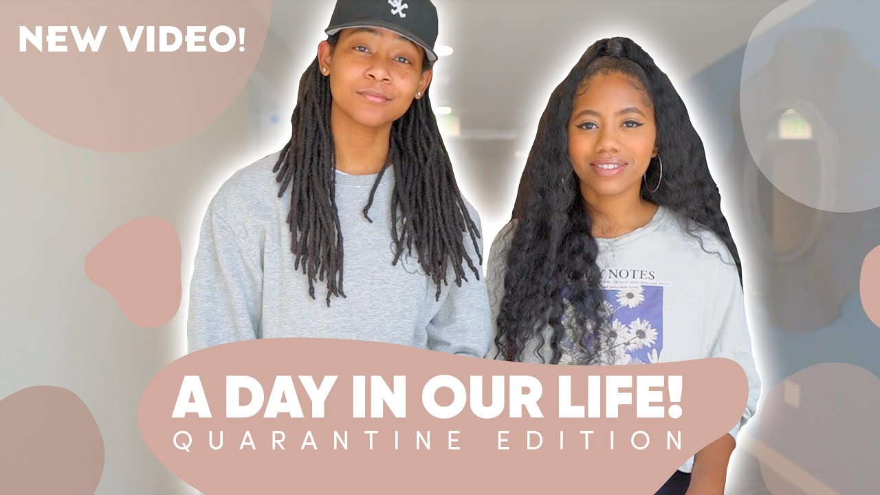 A DAY IN THE LIFE: QUARANTINE EDITION!!! | BIG ANNOUNCEMENT!!!