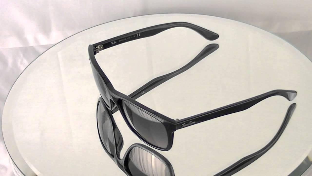 9f4b3cc2f0 Ray-Ban Wayfarer Sunglasses RB4181 601 71 - YouTube
