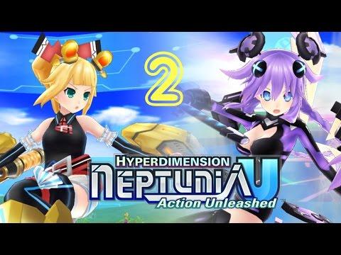 Hyperdimension Neptunia U : Action Unleashed [Enemy Limit Trial] -  バリバリバリ (bari bari bari) |