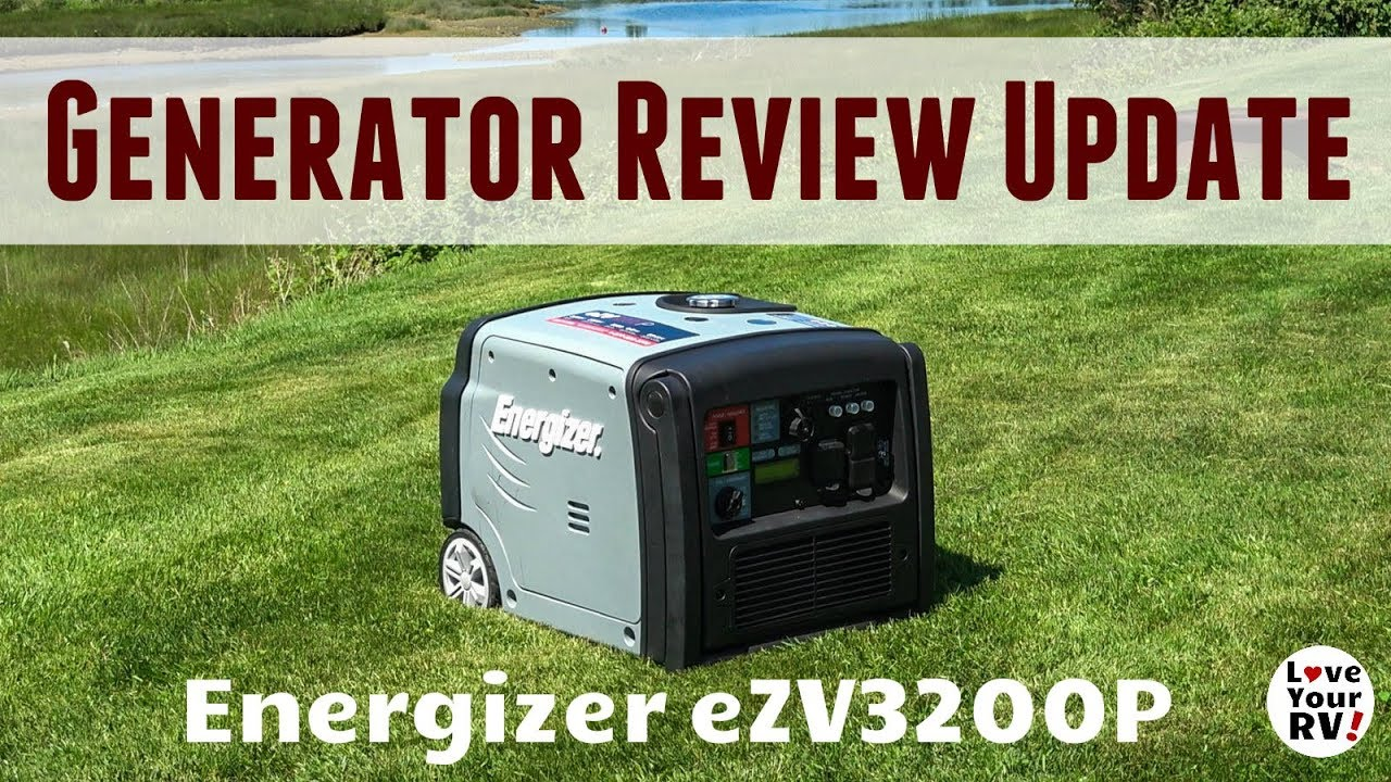 3200 Watt Energizer Portable Inverter Generator Review (Model eZV3200P)