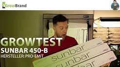 Sunbar 450-B - pro-emit || Growtest von Growbrand
