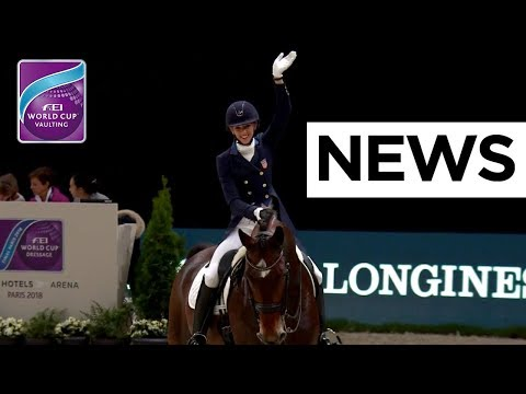 The first dressage results are in | fei world cup™ dressage final